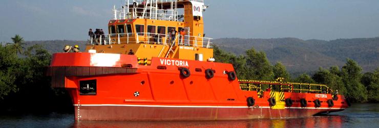 VICTORIA – 40M ANCHOR HANDLING TUG